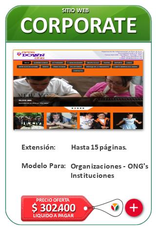 Paginas web para instituciones, organizaciones, ONGs - Diseño Web Corporativo Nicosoft.net