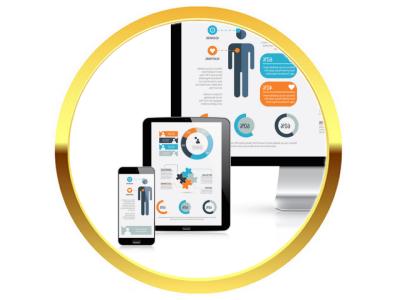 Diseño Web Corporativo Responsivo. Usted se verá muy bien en cualquier dispositivo móbil.