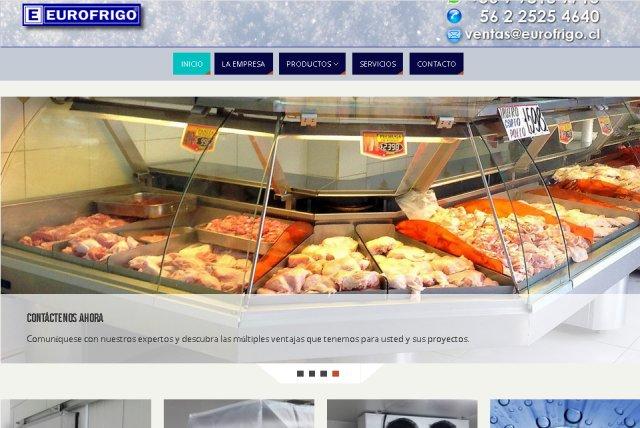 Paginas web Eurofrigo