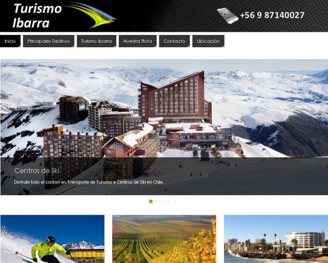 Páginas web Nicosoft.net - Turismo Ibarra