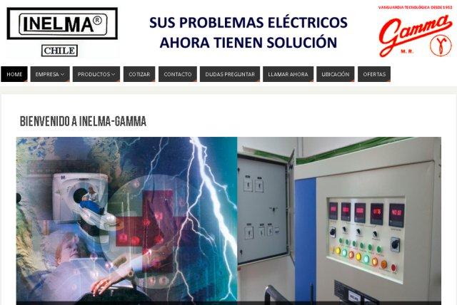 Páginas >Web - Inelma-Gamma
