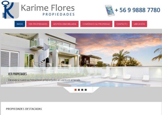 Páginas web de propiedades