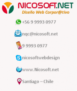 Contacte a Nicosoft.net