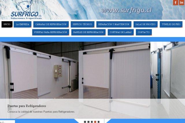 Páginas web de Surfrigo