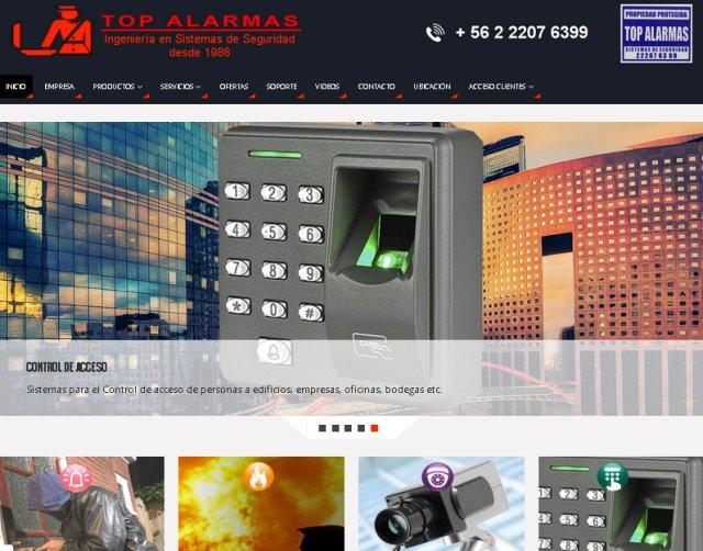 Sitios web de diseño corporativo - páginas web