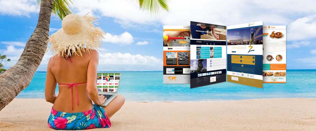Este verano....  Actualiza tu página web!...