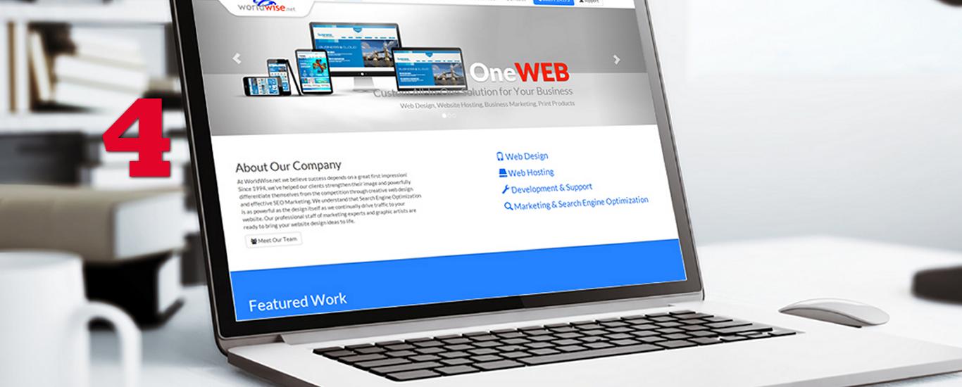 4. Desarrollaremos su sitio web. Modificaciones. Pruebas.
